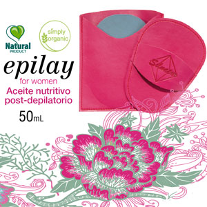 Kit Regalo para Mujer: Manopla de depilación y Aceite post depilatorio
