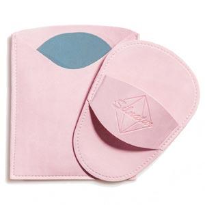 manopla depilatoria de silicio Silnatur color Rosa  Palo